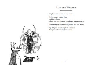 Skig the Warrior, by Kate Wakeling