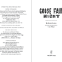 Goose Fair Night title page