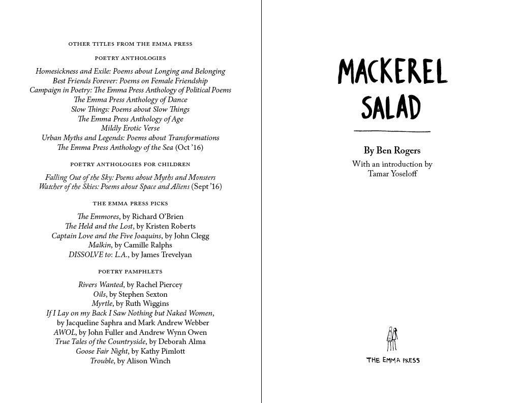 Mackerel Salad The Emma Press Ltd