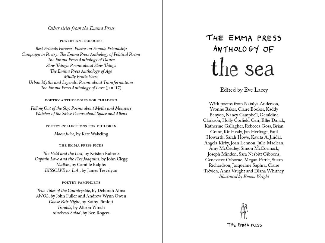 The Emma Press Anthology of the Sea (paperback)
